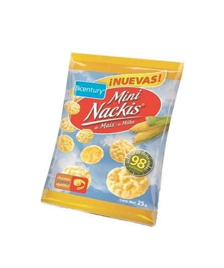MINI NACKYS TORTITAS DE MAIZ DE BICENTURY