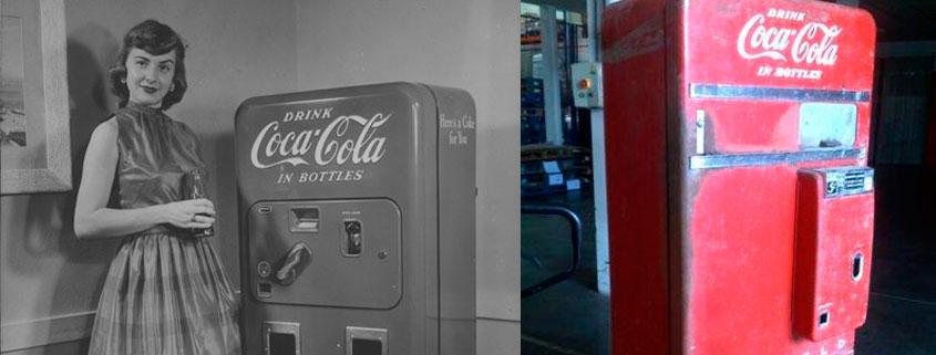 50 años de la primera máquina de vending