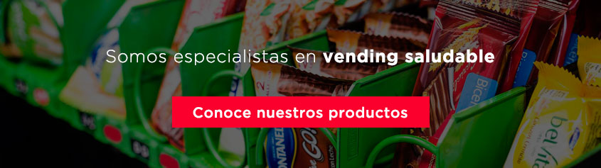 CTA especialistas en vending saludable