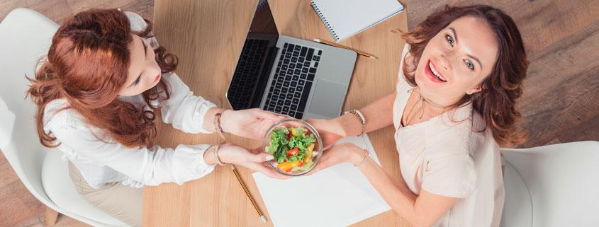 cómo comer sano en la oficina