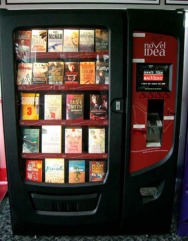 10 Máquinas vending que venden todo tipo de cosas