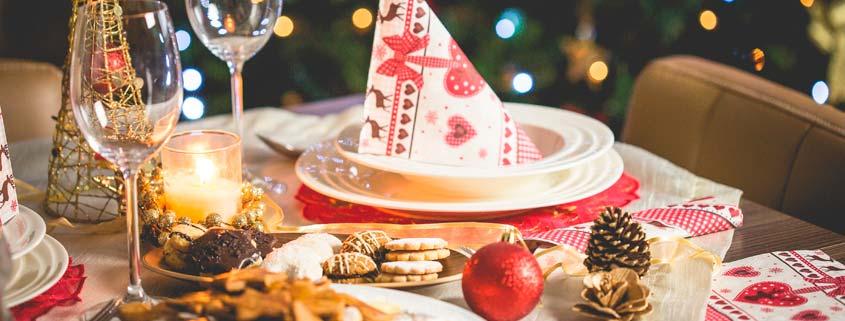 afrontar comidas navideñas