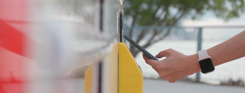 Pago en máquinas vending a través del móvil