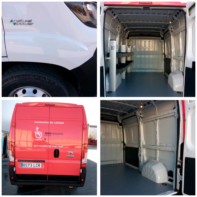 furgonetas con motores de energía alternativa