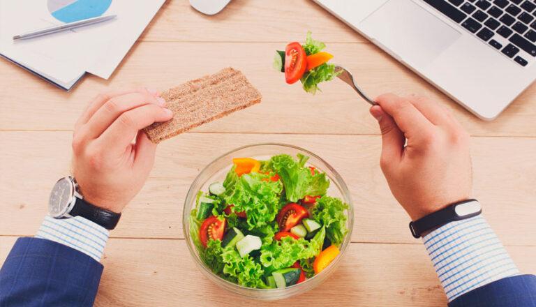 cómo comer saludable en 10 minutos