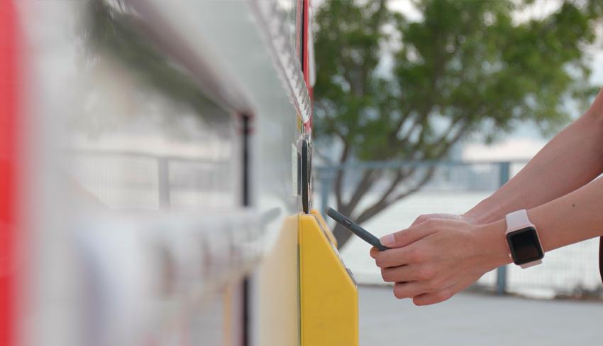 Métodos de pago en máquinas vending