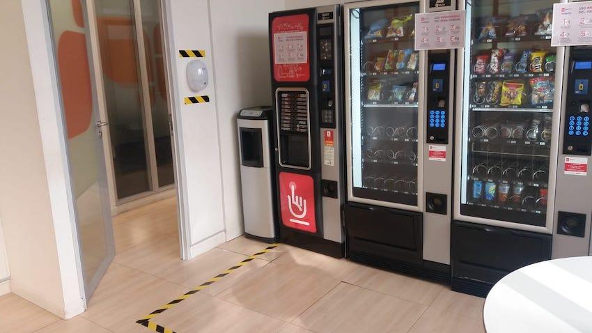 Las máquinas expendedoras más seguras en tiempos de Covid