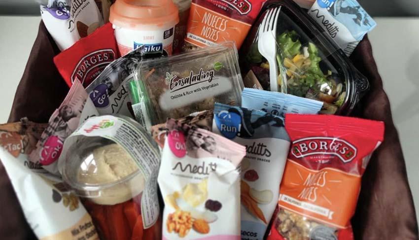 productos vending con menos calorías