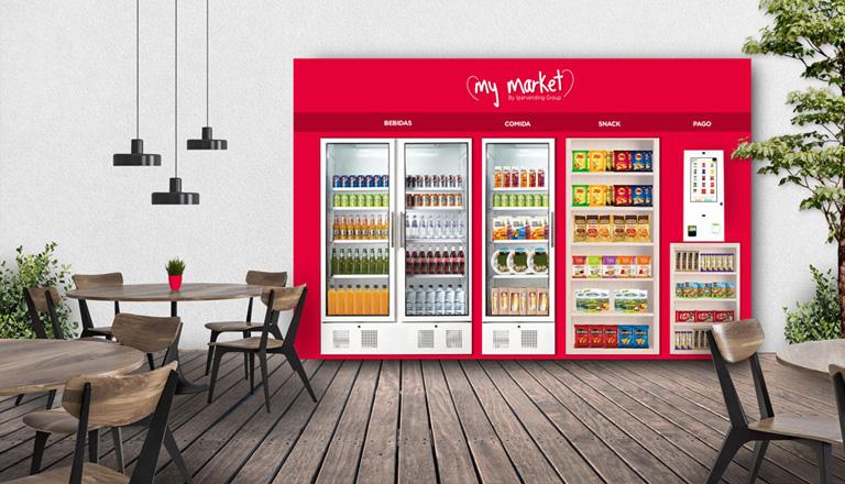 micromarket con pago automático