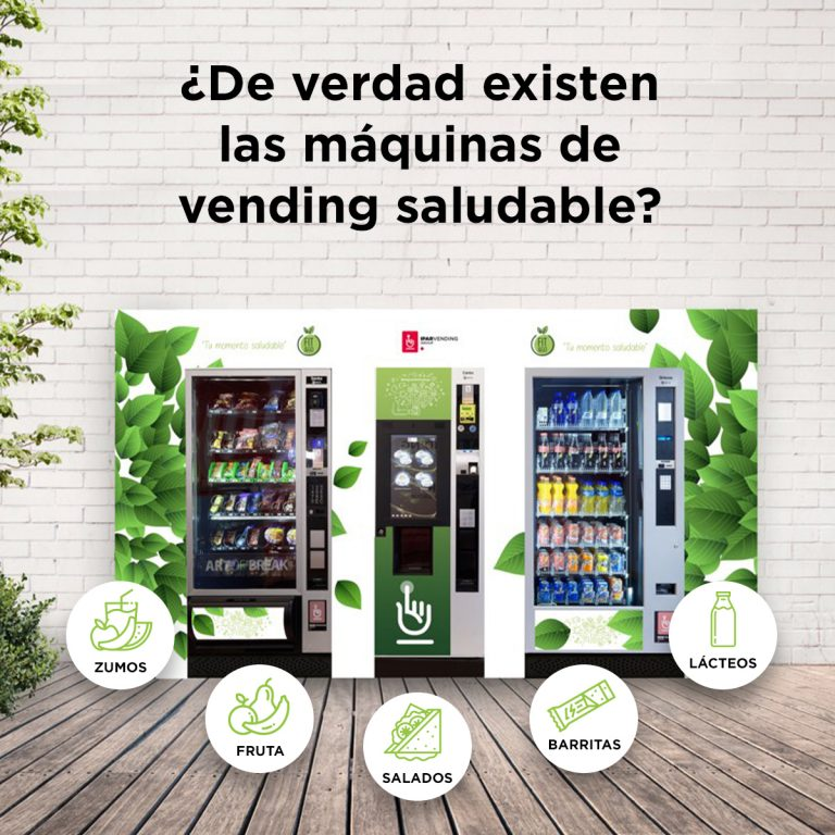 máquinas vending saludables